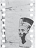 Vector clipart: head of Nefertiti