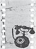 Векторный клипарт: старый телефон на фильм