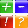 Color web icon | Ilustración vectorial