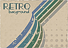 Vector clipart: retro grunge background