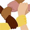 Vector clipart: ethnicity hand
