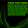 Vector clipart: wave background