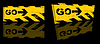 Vector clipart: grunge danger banner