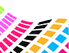 Vector clipart: colorful abstract background