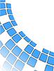 Vektor Cliparts: der blaue abstrakte Hintergrund