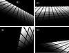 Vektor Cliparts: die schwarzen und weißen abstrakten Hintergrund