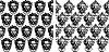 Vektor Cliparts: die mittelalterliche nahtlose