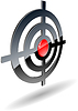 Vector clipart: abstract target