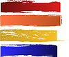 Vector clipart: color banners set