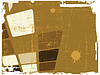 Vector clipart: brown abstract background