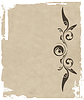 Vector clipart: grunge ornate and frame