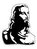 Vector clipart: jesus