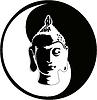 Vector clipart: buddha head