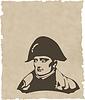 Vector clipart: Napoleon Bonaparte head