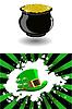 Vector clipart: patrick`s hat