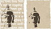 Vector clipart: buddha