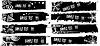 Vector clipart: black banners set