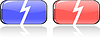 Vector clipart: color button set