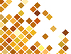 Vector clipart: golden abstract background