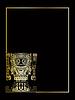 Vector clipart: gold mayan and inca tribal symbols