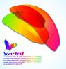 Vector clipart: abstract color background