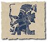 ID 3271764 | Maya-Piktogramm | Stock Vektorgrafik | CLIPARTO