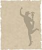 Vector clipart: Greek God Hermes