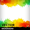 Vector clipart: abstract blot colorful background