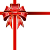 Vector clipart: Red bow
