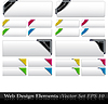 Colored Corner Ribbon Set