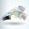Vektor Cliparts: die abstrakte Farbe Hintergrund