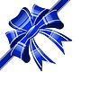 Vektor Cliparts: blaues Band