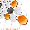 Векторный клипарт: Абстрактный горизонтальный баннер Технологии