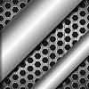 Векторный клипарт: абстрактные металлические фон