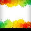 Векторный клипарт: абстрактным пятном красочный фон