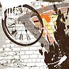 Векторный клипарт: абстрактный фон гранж стену