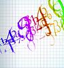 Векторный клипарт: абстрактный фон количество цветов