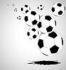 Векторный клипарт: абстрактный фон футбол