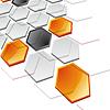 Vector clipart: Abstract Horizontal Technology Banner