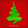 Vector clipart: Abstract Christmas Background