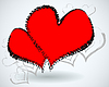 Vector clipart: the Valentine`s Day card