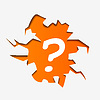 Vector clipart: Abstract Question Mark in hole