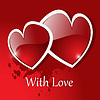 Vector clipart: background Day Valentine