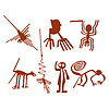 Vector clipart: Nazca Lines Set