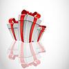 Vector clipart: white box