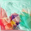 Multicolor (Grün, Lila, Rot) Design-