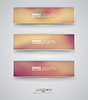 Business design templates. Set of Banners with   Stock Vector Graphics