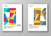 Set of abstract design templates   Stock Vector Graphics