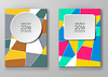 Vector clipart: Set of abstract design templates