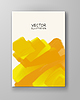 Vector clipart: abstract background yellow color